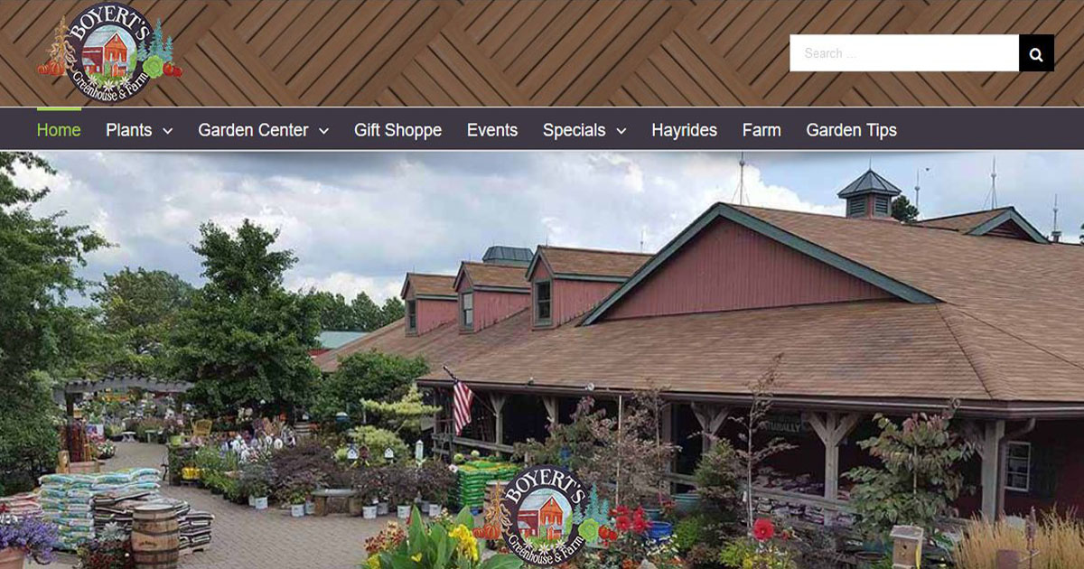 Boyert S Greenhouse Farm Garden Center Medina County
