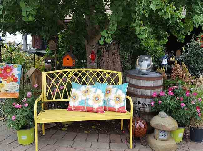 Click Here for Garden Gifts & Art